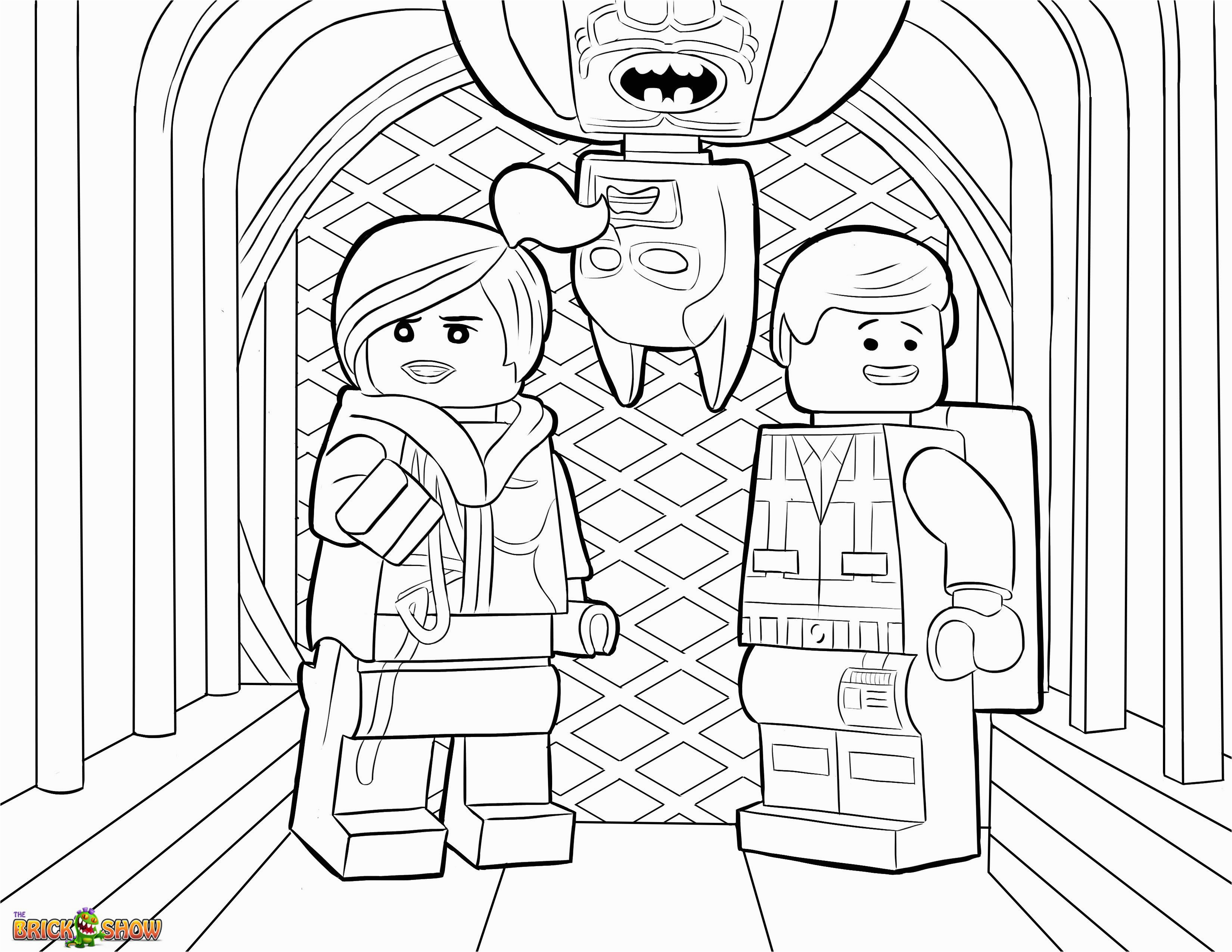Lego Movie Coloring Pages 5