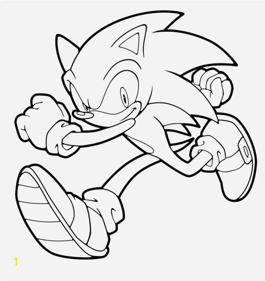 Ausmalbilder sonic Lernspiele Färbung Bilder Free Printable sonic the Hedgehog Coloring Pages for Kids