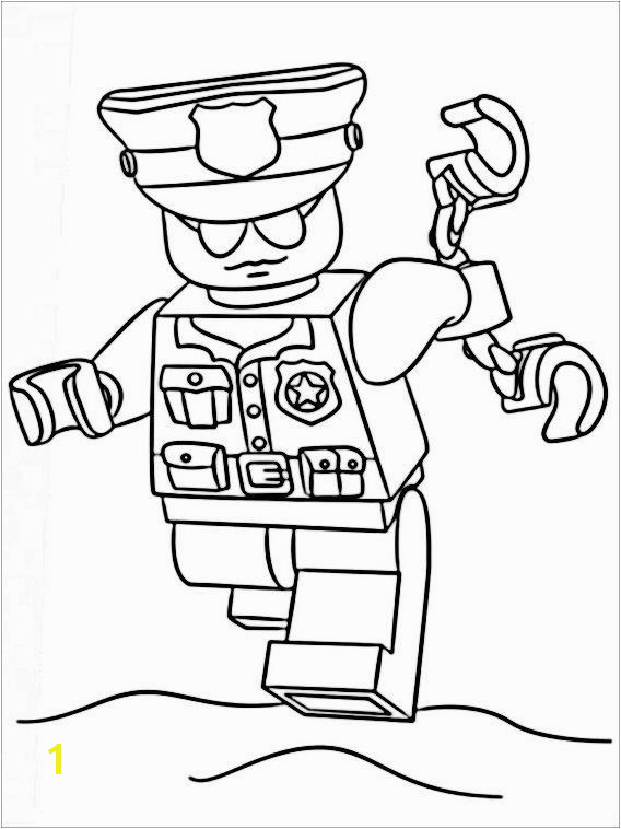Police ficer Coloring Pages Best Lego Police Coloring Pages 9 15 Luxury Police ficer