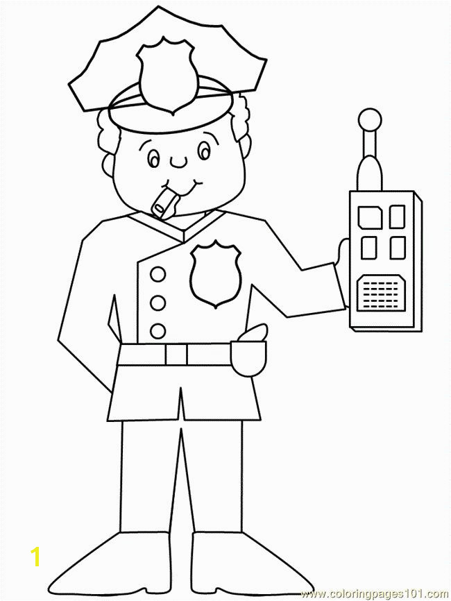 Police ficer Coloring Pages Unique Police ficer Printables 15 Luxury Police ficer Coloring Pages