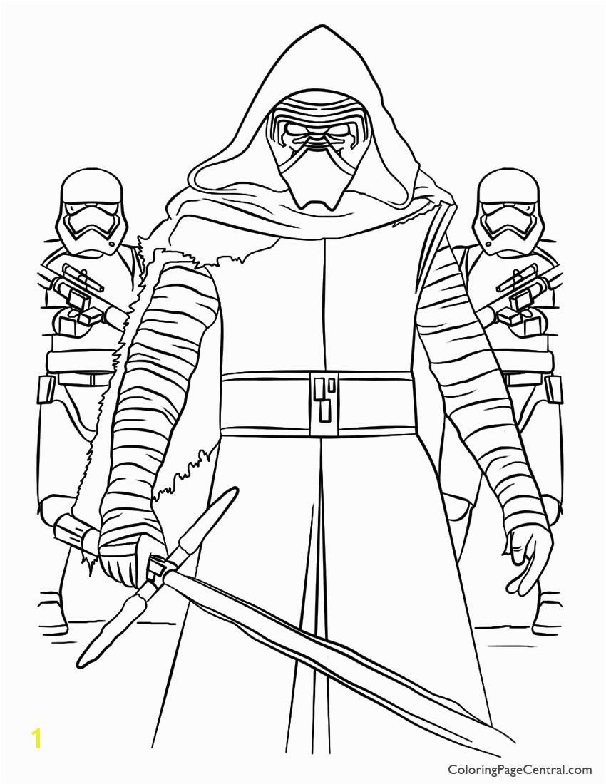 Fresh Kylo Ren Coloring Page Coloring Pages Neu Kylo Ren Ausmalbilder Malvorlagen Star Wars