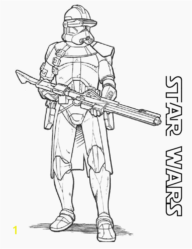 Clone Wars Coloring Pages Awesome Fresh Clone Trooper Coloring Pages Coloring Pages Clone Wars Coloring