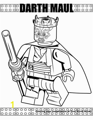 Darth Maul coloring page Lego Coloring Pages Free Lego Darth Maul Star