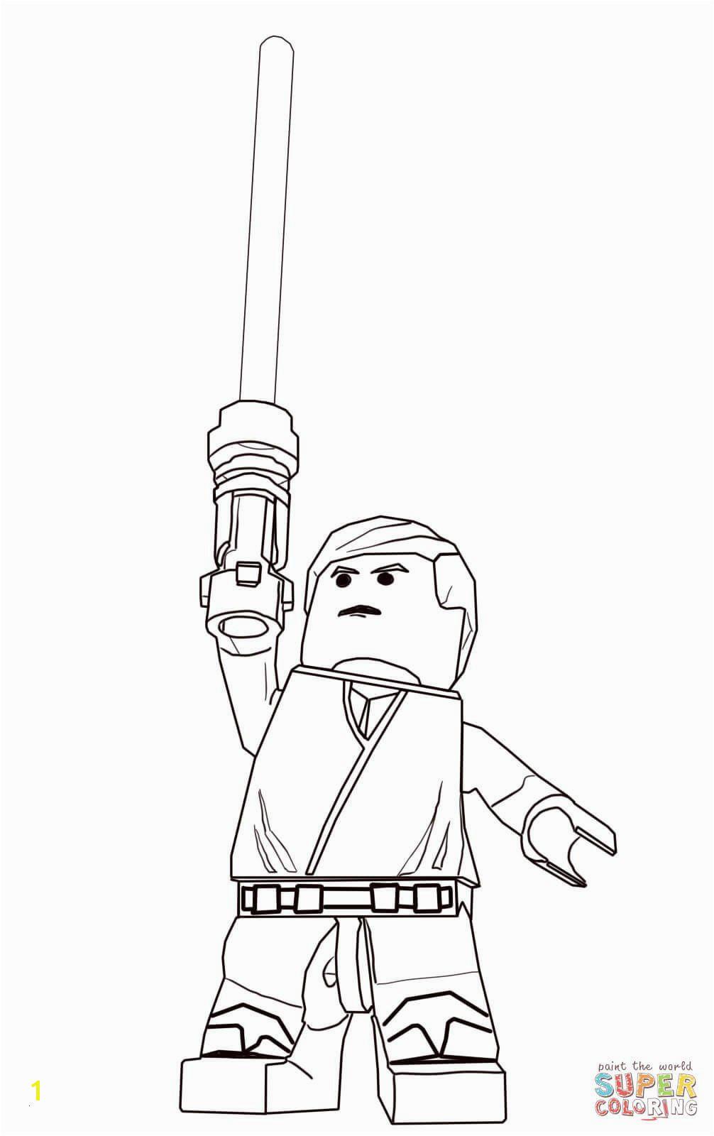 Lego Star Wars Luke Skywalker Coloring Pages Ausmalbilder Clone Wars Frisch Star Wars Ausmalbilder Luke Skywalker