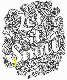 Let It Snow Coloring Pages 62 Best Coloring Pages for Adults Images