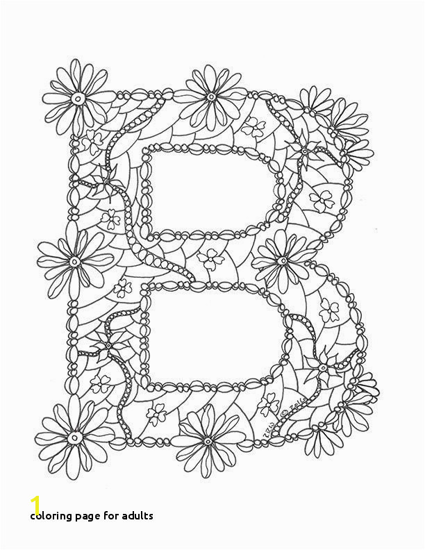 0d Coloring Page for Adults Letter Coloring Pages for Adults Lovely Awesome Coloring Page for