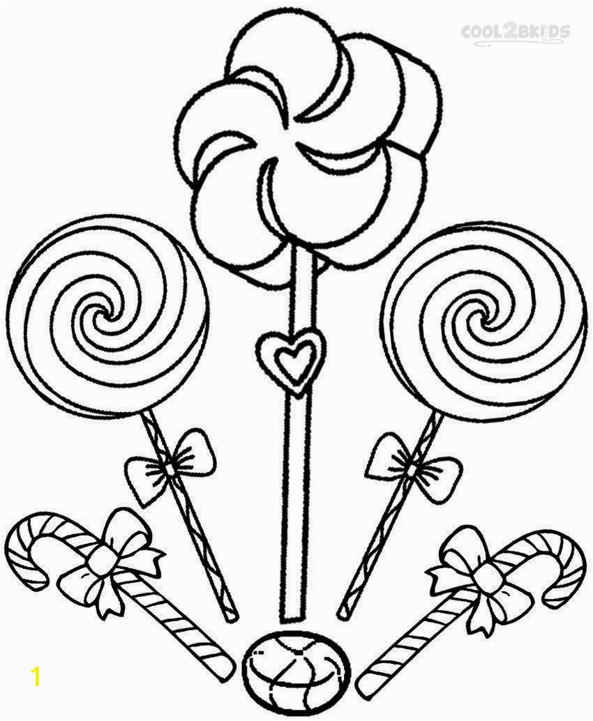 Printable Candyland Coloring Pages For Kids