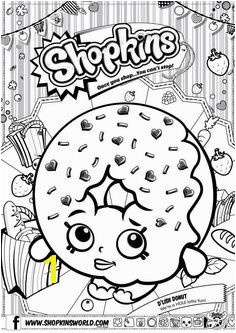 Shopkins Coloring Pages Season 1 D Lish Donut Shopkin Coloring Pages Shopkins Coloring Pages