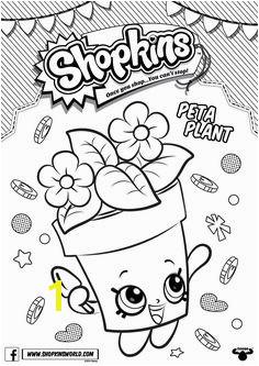 Shopkins Coloring Pages Season 4 Peta Plant Shopkins Coloring Pages Free Printable Shopkin Coloring Pages
