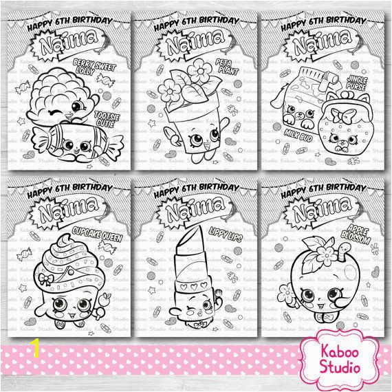 Kaboo Studio s Vendor Listing Birthday ActivitiesShopkinsColoring SheetsCool