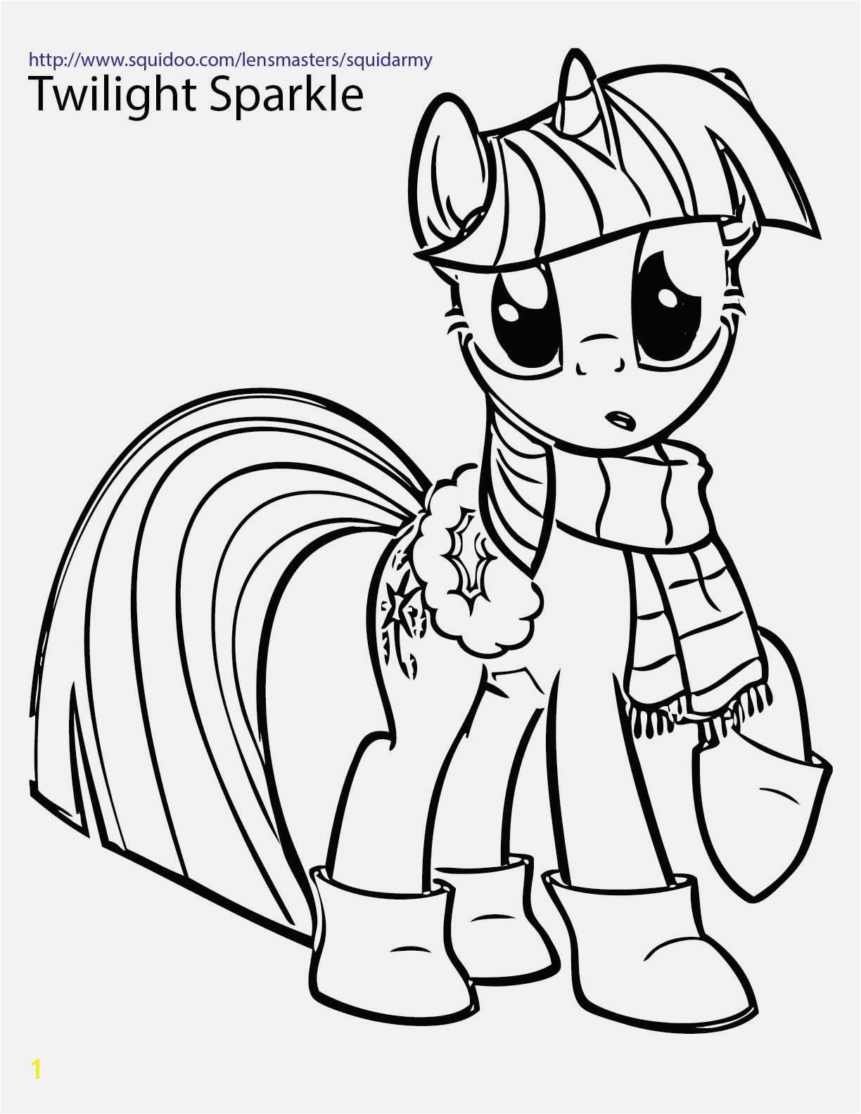 My Little Pony Coloring Pages Printable Twilight My Little Pony Coloring Pages My Little Pony