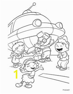 Little Einsteins and Rocket coloring page Mini Einsteins Little Einsteins Rocket Little Einsteins Birthday