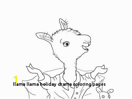 Image Cartoon Llama Coloring Pages 10 Cute Free Printable Llama