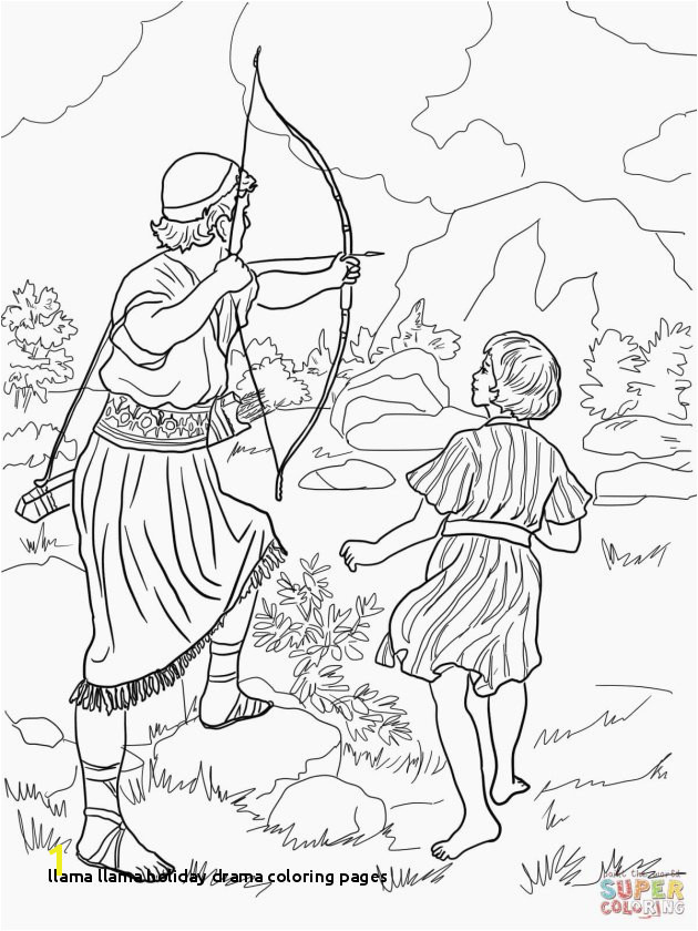 Llama Llama Holiday Drama Coloring Pages Fresh Weird King David and Nathan Coloring Page 4 Spares