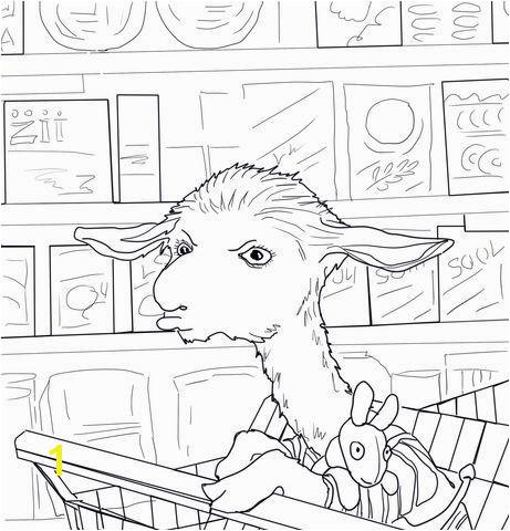 Llama Coloring Page Elegant Llama Llama Mad at Mama Coloring Page Llama Coloring Page Elegant