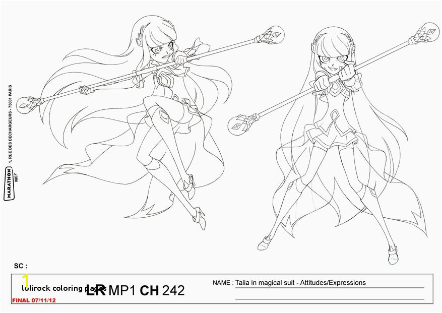 23 Lolirock Coloring Pages