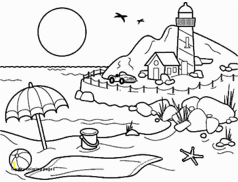 Coloring Pages summer season pictures for kids drawing Free