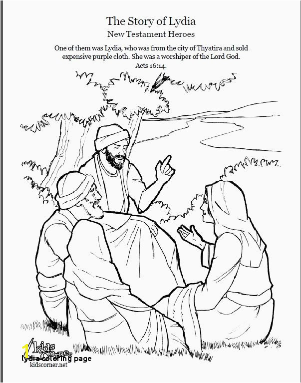 Bible Coloring Page Inspirational 46 Best Lydia Pinterest