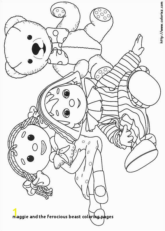 Maggie and the Ferocious Beast Coloring Pages Inspirational Maggie