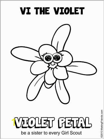 girl scout daisy rosie the rose coloring pages Google Search