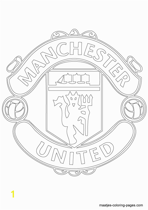 Manchester United soccer club logo coloring page Manchester Logo Manchester United Badge Manchester United