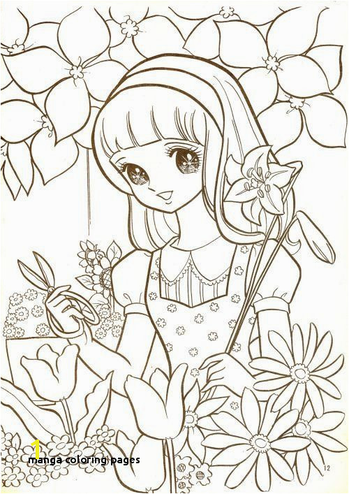 22 Manga Coloring Pages