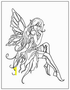 Manga Fairy Coloring Pages 497 Best Coloring Books Adult Images On Pinterest In 2018