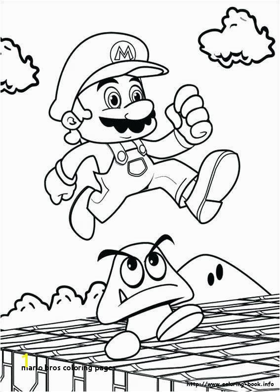 Mario Bros Coloring Pages Mario Brothers Coloring Pages Unique Mario Coloring O D Colouring