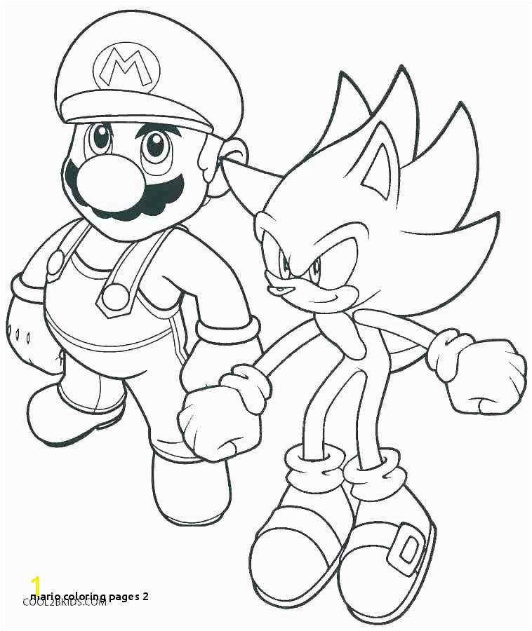 Mario Coloring Pages 2 Mario Bros Printable Coloring Pages Super Bros Coloring Pages