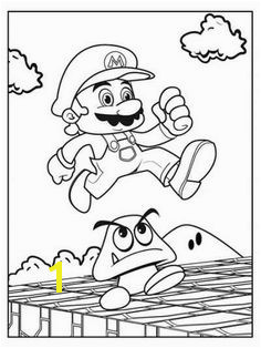 super mario coloring pages Coloring Pages For Boys Kids Coloring Super