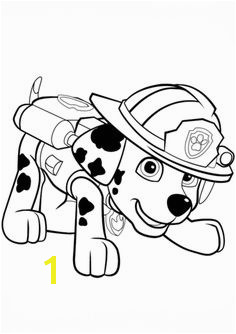 Paw Patrol Marshall Puppy Coloring page Paw Patrol Marshall Puppy Coloring Pages Paw Patrol