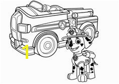 Marshall Fire Truck Coloring Page 35 Best Paw Patrol Images On Pinterest