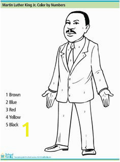 Martin Luther King Jr Color By Number Printables for Kids – free word search puzzles coloring pages and other activities