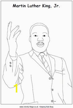 Dr Martin Luther King Jr colouring page Marther Luther King Martin Luther Day King