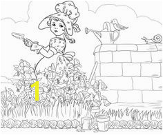 Mary Mary Quite Contrary Coloring Page 146 Best Children Coloring Images On Pinterest In 2018