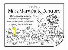 Mary Mary Quite Contrary Lyrics