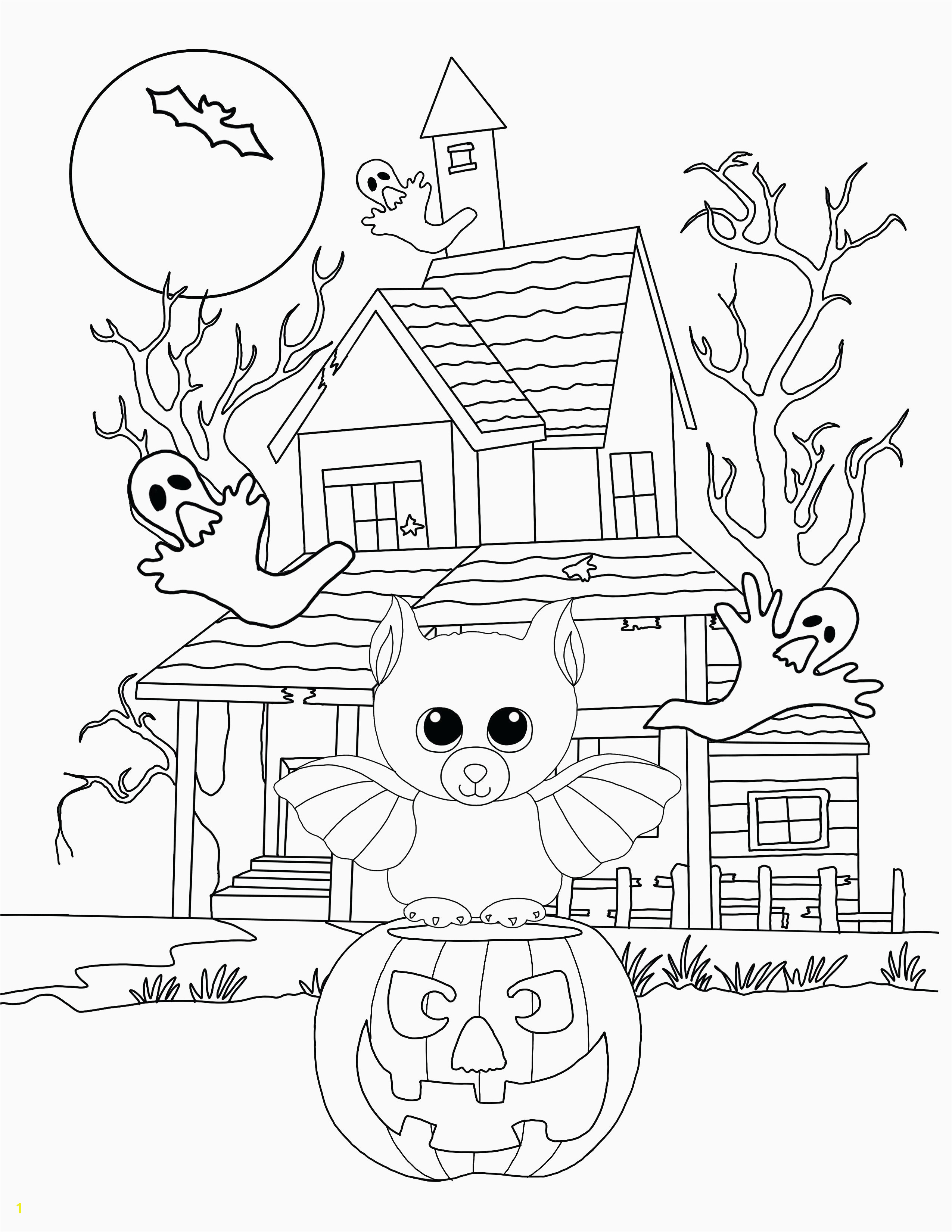 Mary Mary Quite Contrary Coloring Page Scary Coloring Pages for Halloween New Printable Coloring Pages