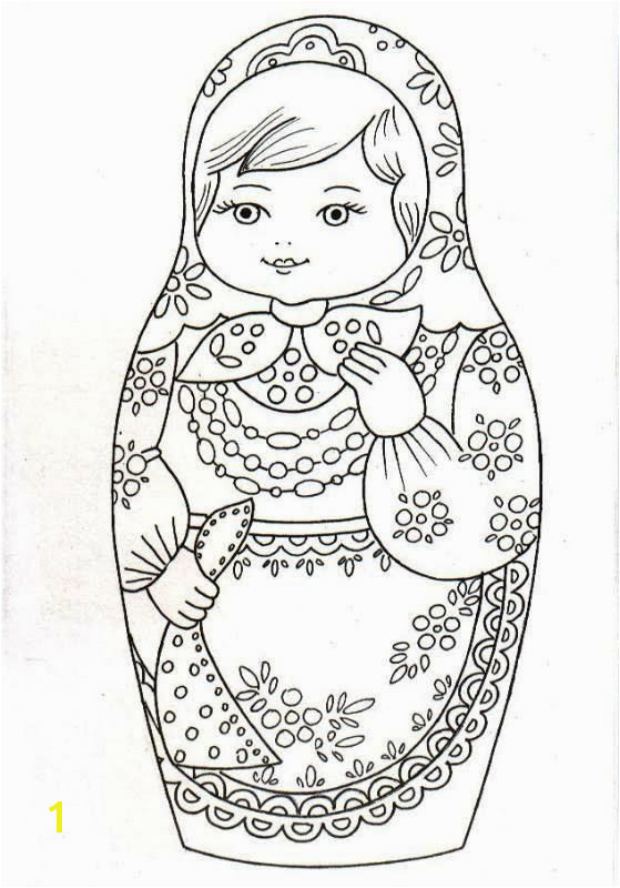 BONNE BRODERIE Adult Coloring Coloring Pages Coloring Books Matryoshka Doll Kokeshi Dolls