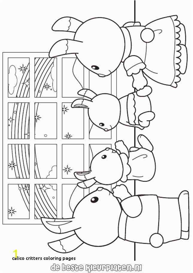 Calico Critters Coloring Pages 162 Best Silvanian Families Pinterest
