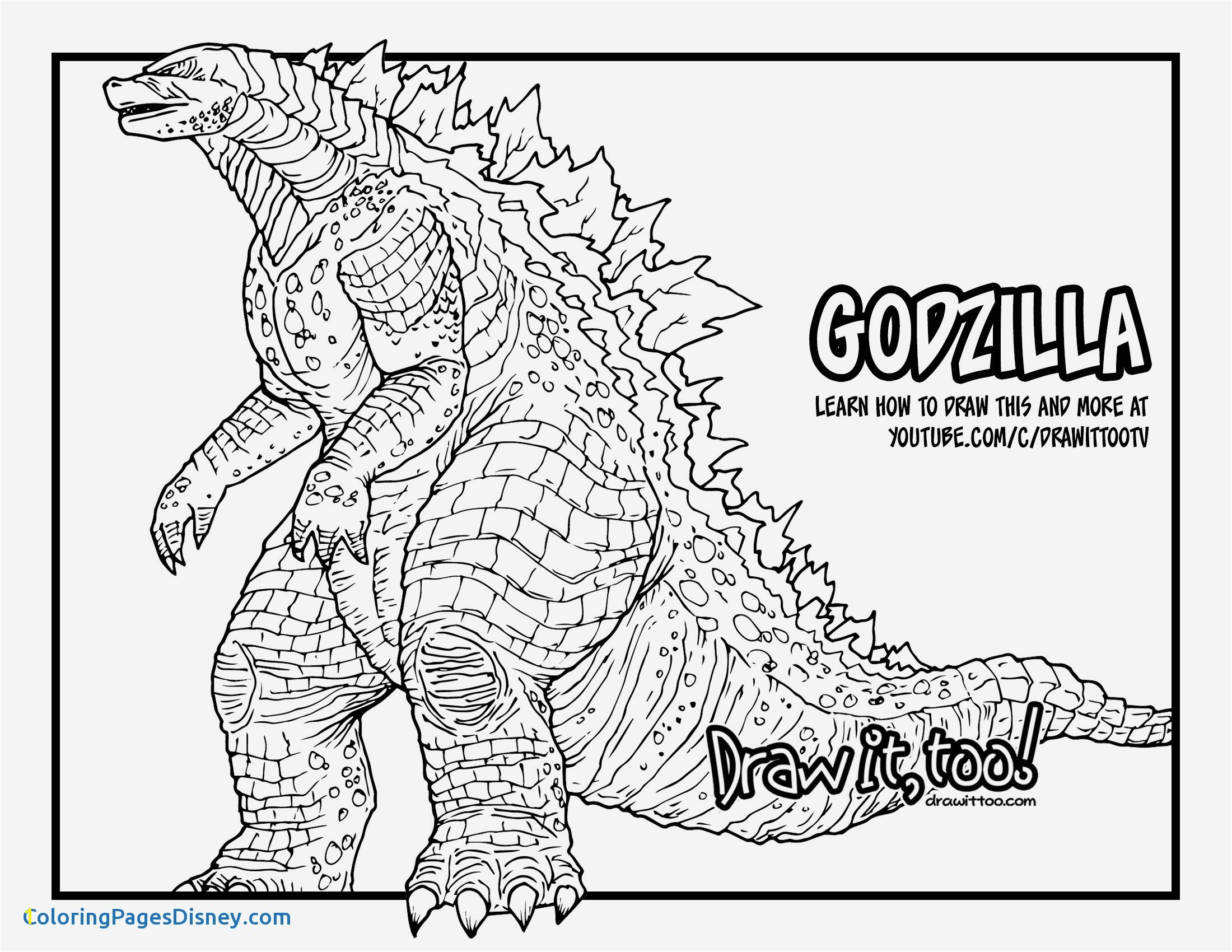 Mechagodzilla Coloring Pages Godzilla Coloring Pages at Getcolorings