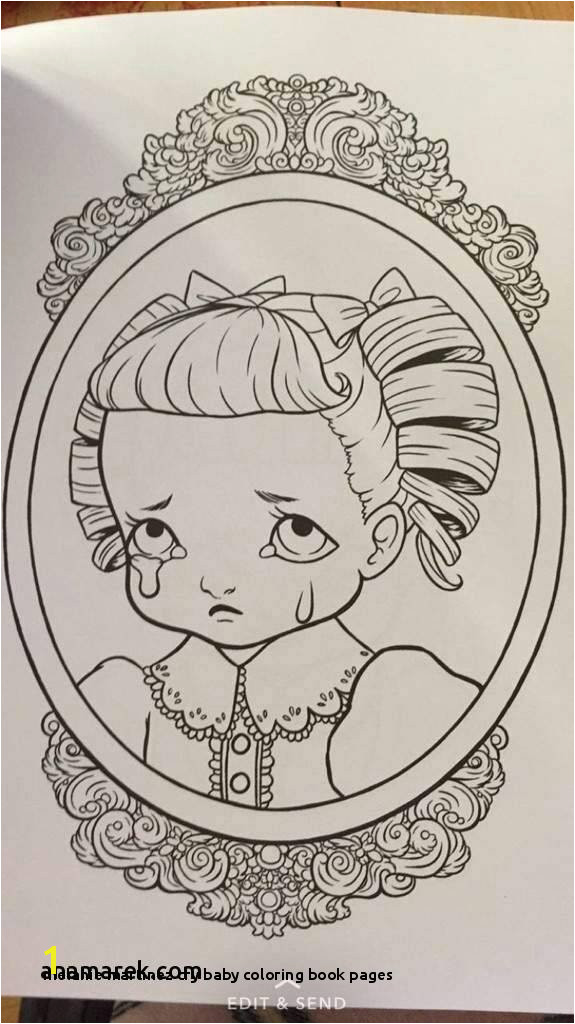 22 Melanie Martinez Cry Baby Coloring Book Pages