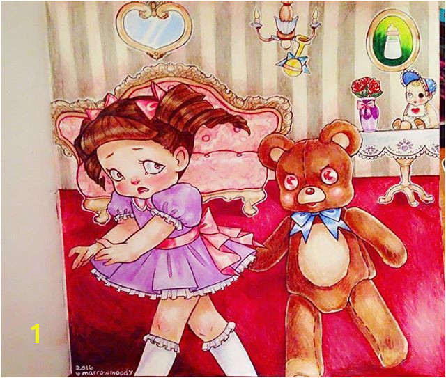 Melanie Martinez Coloring Book Baby Story Books Crybaby Crying Teddy Bears