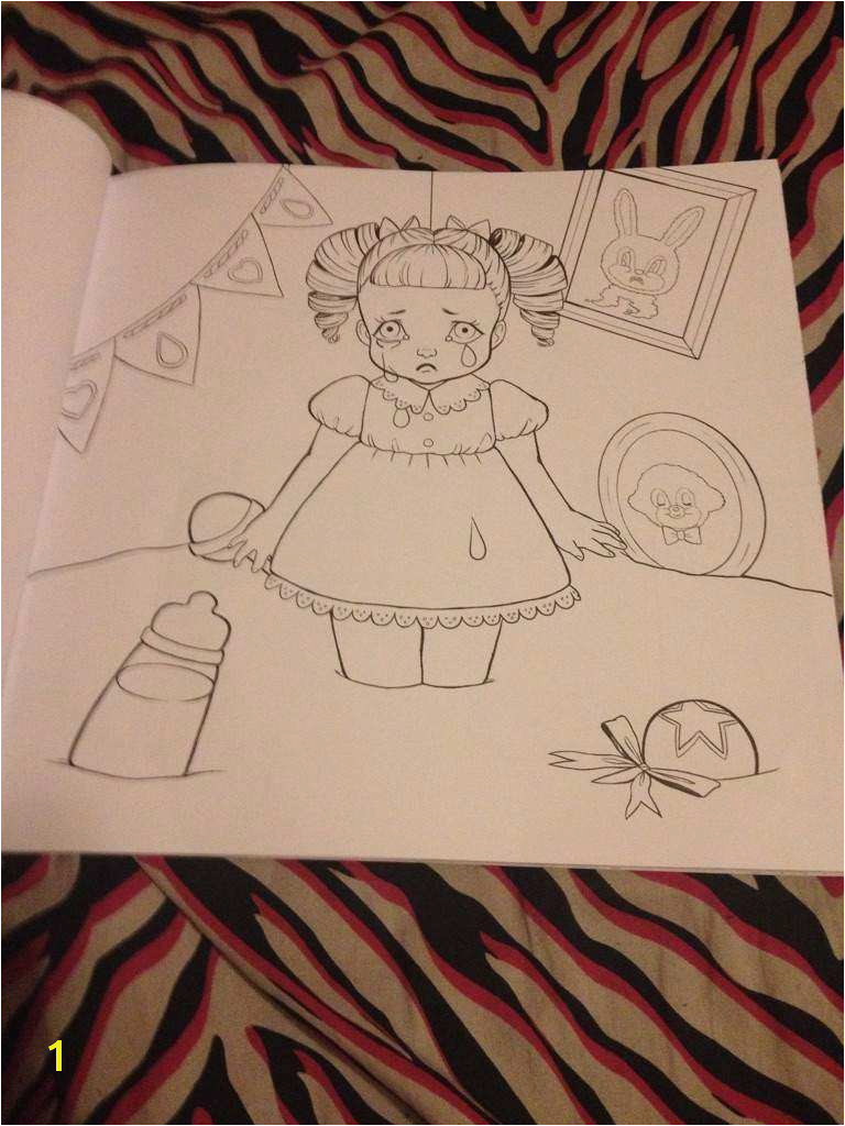 Gallery of melanie martinez coloring book pages
