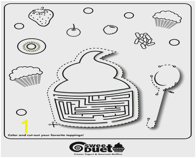 Breathtaking Coloring Pages Muffins Free