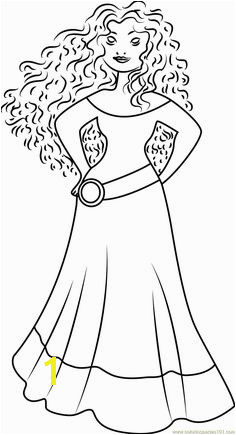 Coloring Princess Merida Coloring Page Free Brave Pages with Fans Request Disney Princess with Merida From Brave Colori Princess Merida Coloring Page