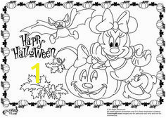 Minnie mouse the popular disney cartoon character and the girlfriend of disney s official mascot mickey · Mickey Mouse Coloring PagesHalloween