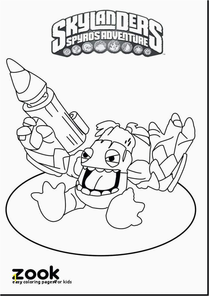 24 Easy Coloring Page 4