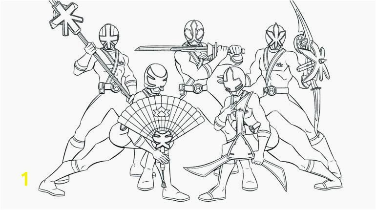 Dino Thunder Power Ranger Coloring Pages