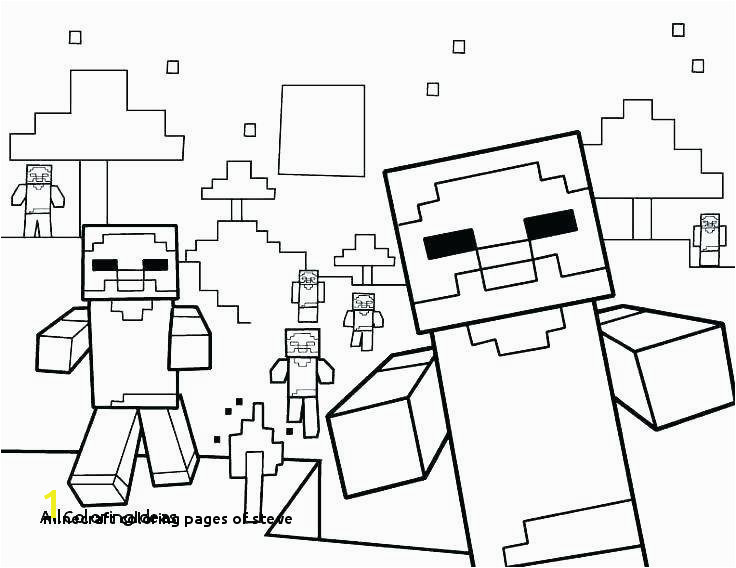 Gallery Minecraft Coloring Pages Steve Minecraft Coloring Pages Best Printable Coloring 0d Archives Se