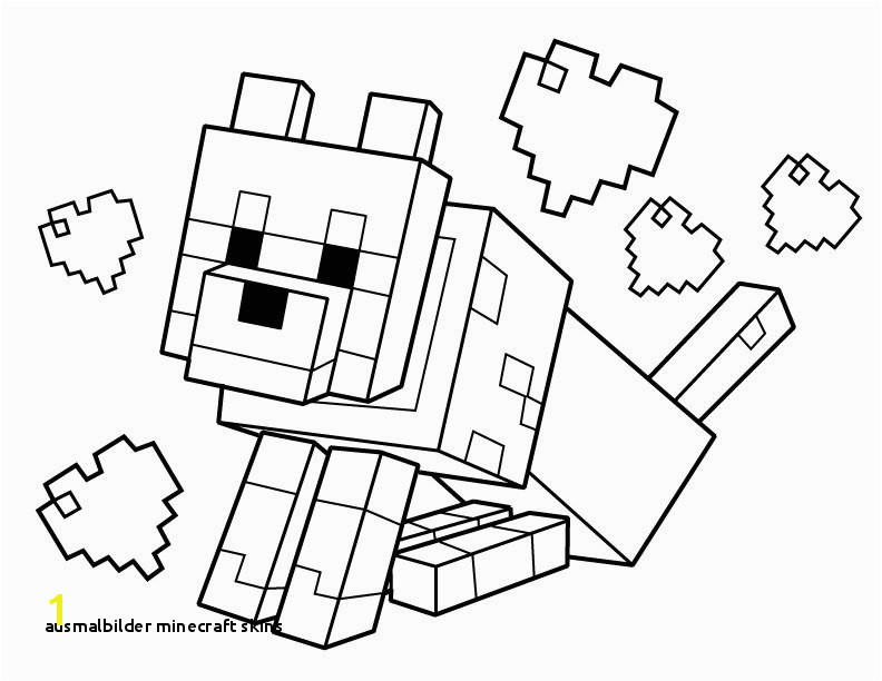 Ausmalbilder Minecraft Skins Minecraft Coloring Pages Free Printable Minecraft Pdf Coloring